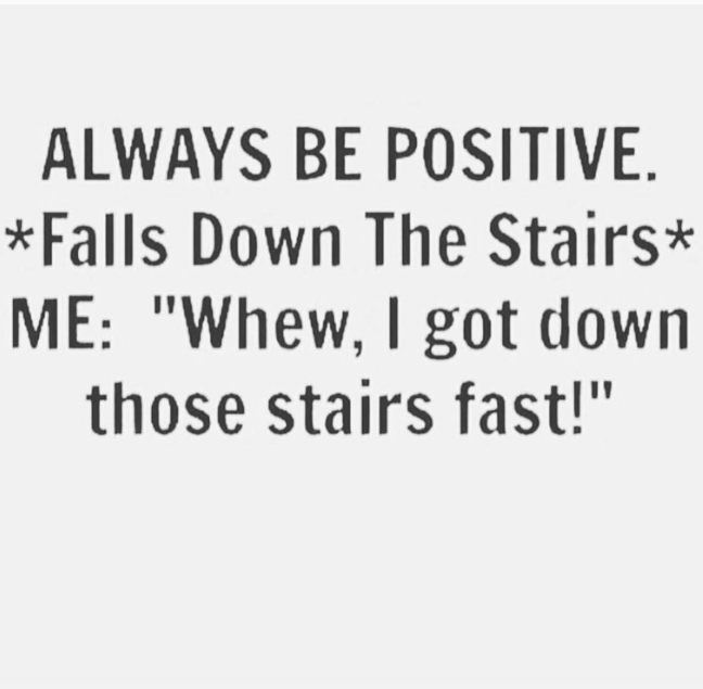 fall down stairs meme