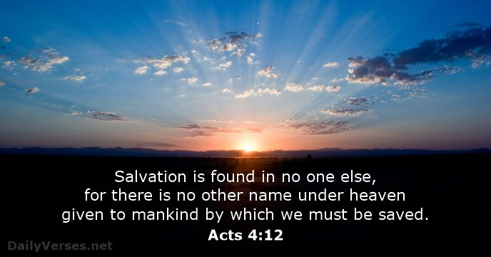 salvation in jesus meme